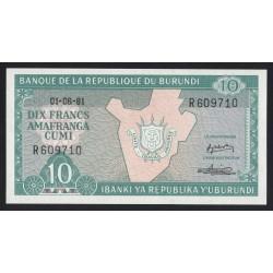 10 francs 1981