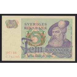 5 kronor 1977