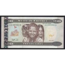 20 nakfa 1997