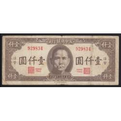 1000 yuan 1945 - Bank of China