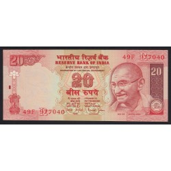 20 rupees 2002
