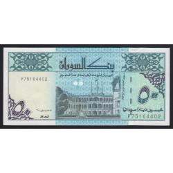 50 dinars 1992