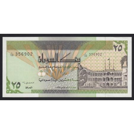 25 dinars 1992