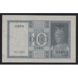 10 lire 1938