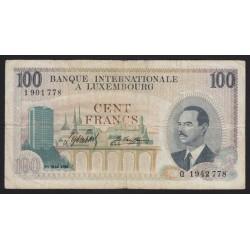 100 francs 1968