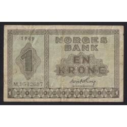 1 krone 1949