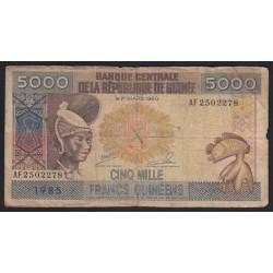 5000 francs 1985