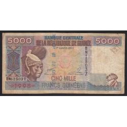 5000 francs 1998