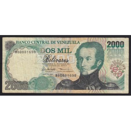 2000 bolivares 1997