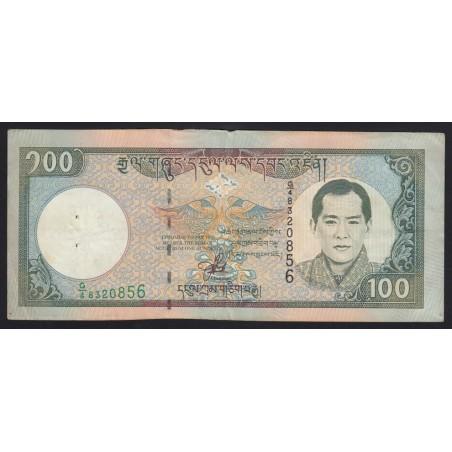 100 ngultrum 2000