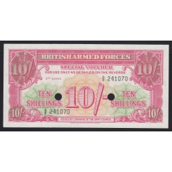 10 shillings 1956 - British Armed Forces