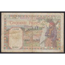 50 francs 1940