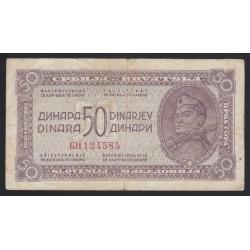 50 dinara 1943