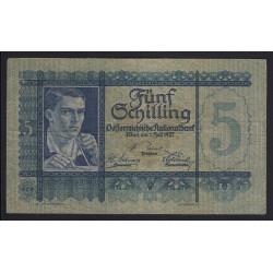 5 schilling 1927