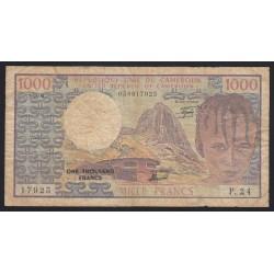 1000 francs 1980