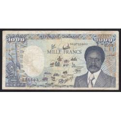 1000 francs 1987