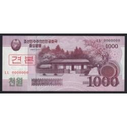 1000 won 2008 - SPECIMEN