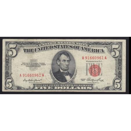 5 dollar 1953