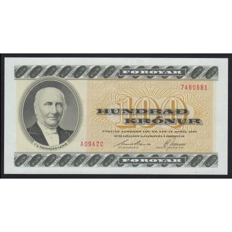 100 kronur 1949