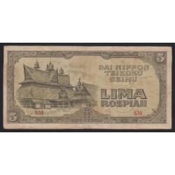 5 roepiah 1944