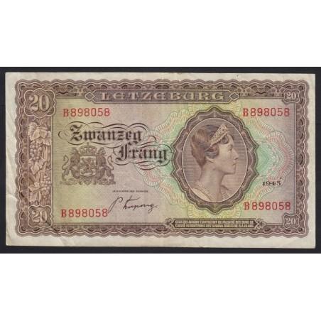 20 frang 1943