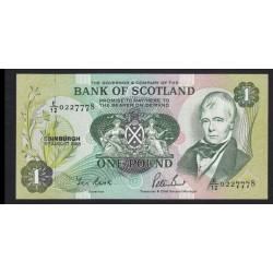 1 pound 1988 - Bank of Scotland