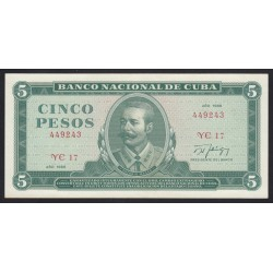 5 pesos 1988