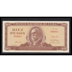 10 pesos 1988