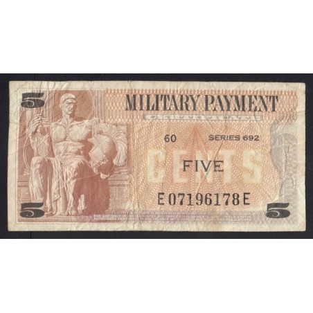 5 cents 1970 - Military Payment Certificate