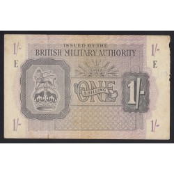 1 shilling 1943 - British Military Authority
