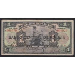 1 boliviano 1911