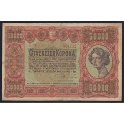 50000 korona 1923