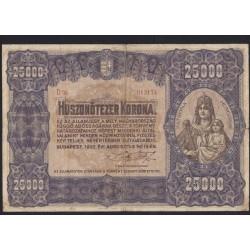 25000 korona 1920