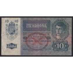 10 kronen/korona 1915