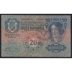 20 kronen/korona 1919 -OTOÈCU/OTTOCSÁN