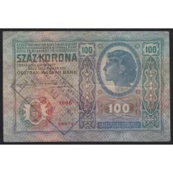 100 kronen/korona 1919 - SZABADKA