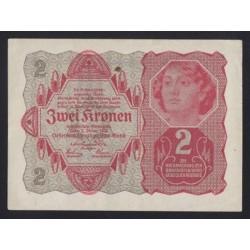 2 kronen 1922 - OLLA reklámpecsét