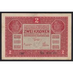 2 kronen/korona 1919 - 7000 feletti sorszám