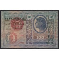 100 kronen/korona 1920