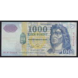 1000 forint 1999 DC