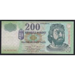 200 forint 2001 FA
