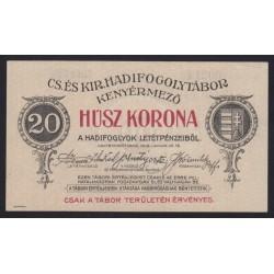 20 kronen/korona 1916 - Kenyérmezõ
