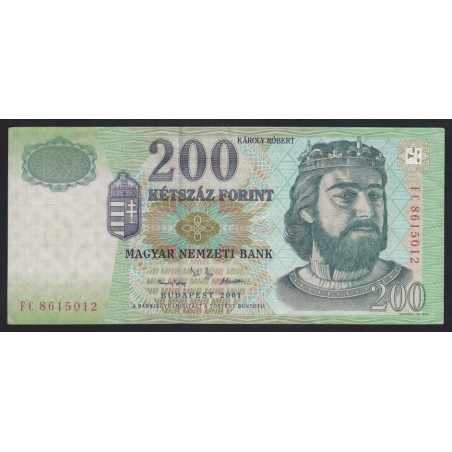 200 forint 2001 FC