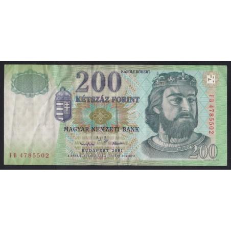 200 forint 2001 FB