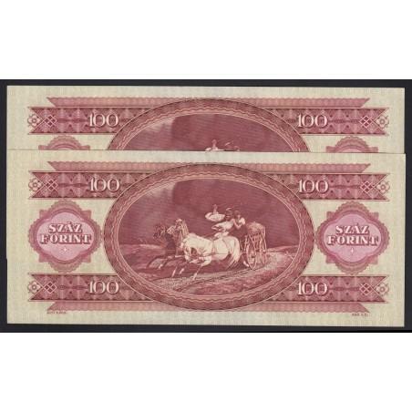100 forint 1984 2x