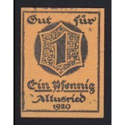 1 pfennig 1920 - Altusried