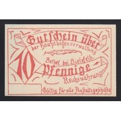 10 pfennig 1921 - Bethel