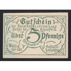 5 pfennig 1921 - Bethel