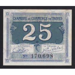25 centimes 1926 - Troyes
