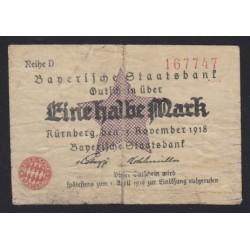 1/2 mark 1918 - Nürnberg